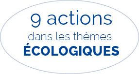 9 actions themes ecologiques